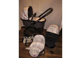 iCandy Peach London Pram Pushchair Nò 50 Huge Bundle Special Edition Rare